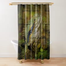 Prehistoric Shower Curtain