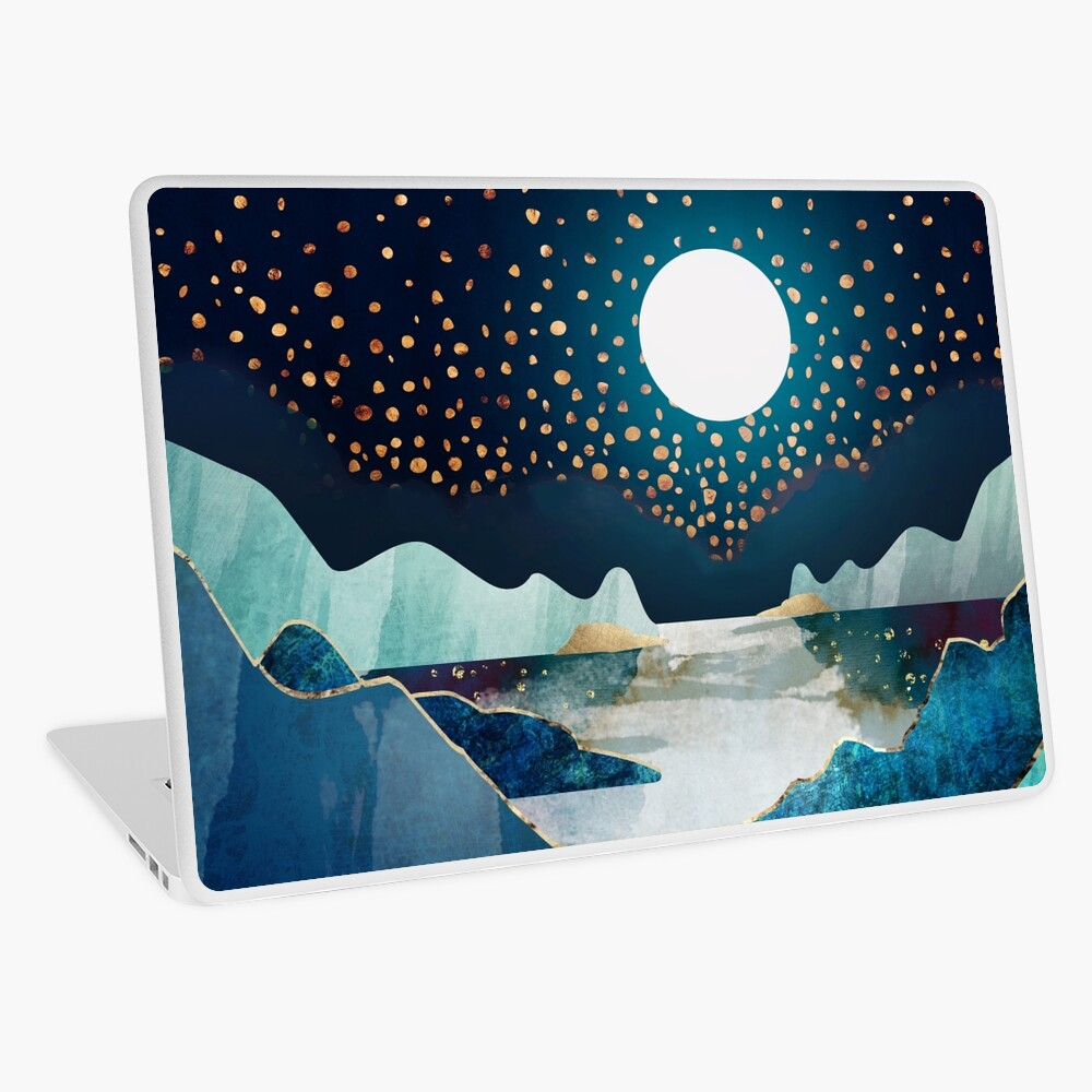 Moon Glow Laptop Skin