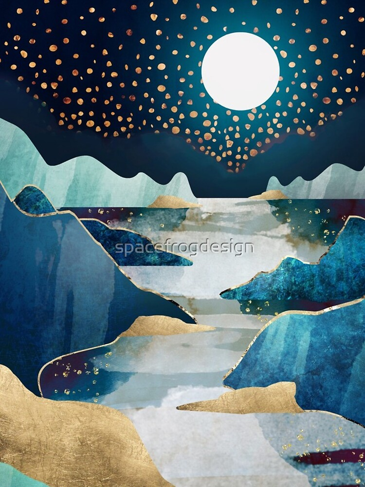 Moon Glow by spacefrogdesign