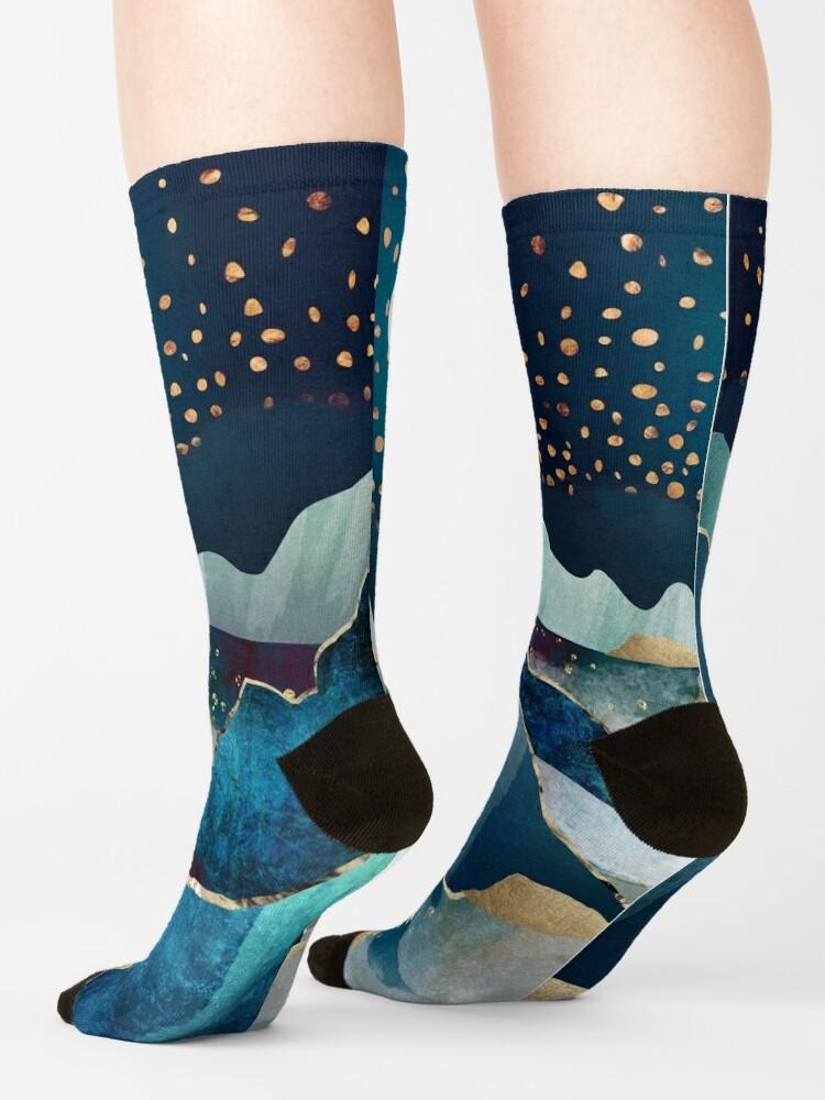 Alternate view of Moon Glow Socks