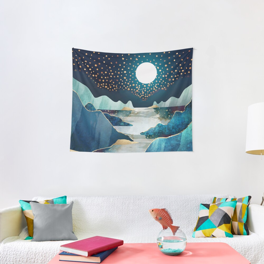 Moon Glow Tapestry