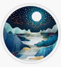 Moon Glow Transparent Sticker