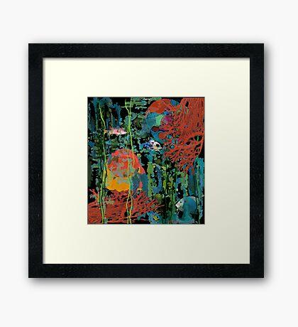 """Intense Simplicity"" Framed Print"