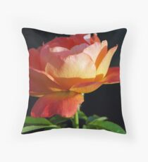 Orange blossom - Minter Garden Throw Pillow