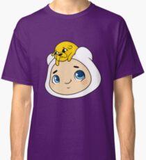 Camiseta clásica Baby Jake y Finn