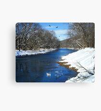 Winter Retreat Canvas Print