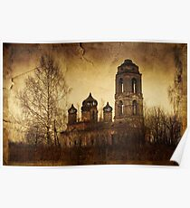 Destroyed church  Poster