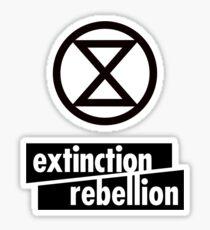Extinction Rebellion Sticker