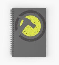 Captain Hammer Spiral Notebook