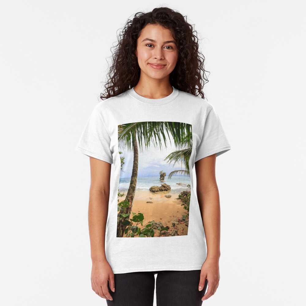 Beach in Manzanillo Costa Rica Classic T-Shirt