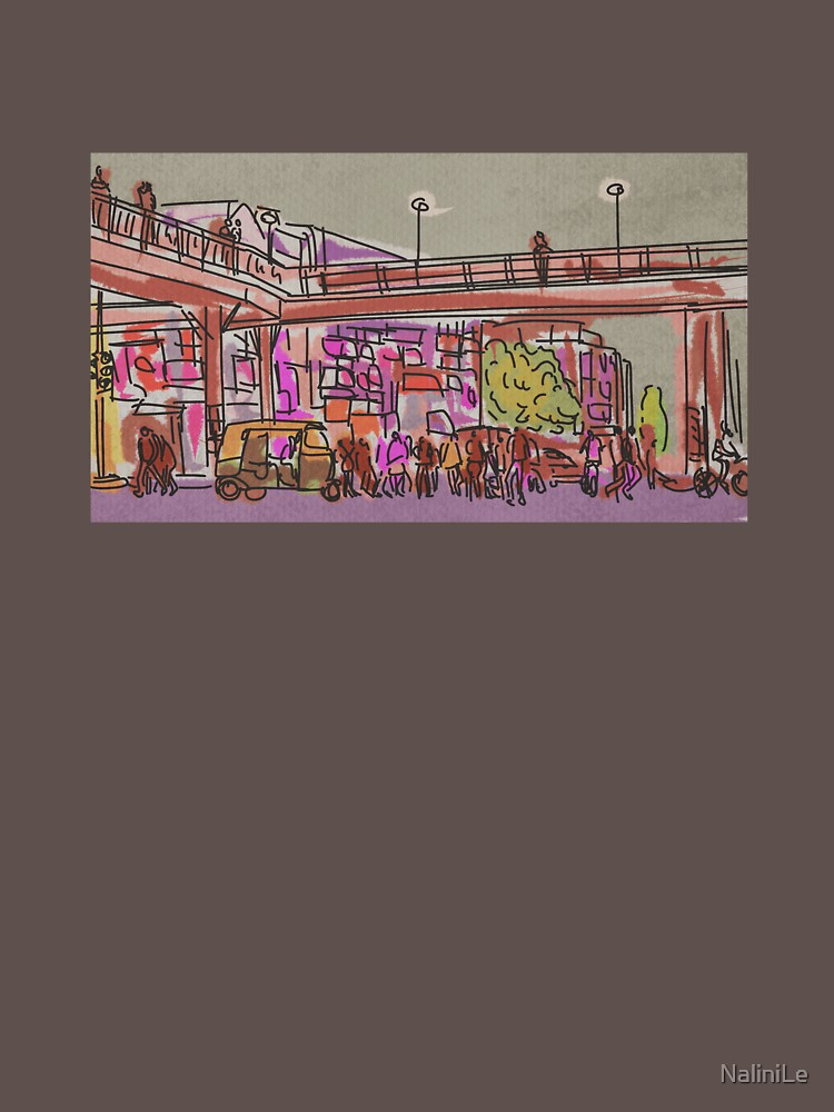Laxmi Nagar Sketch by NaliniLe