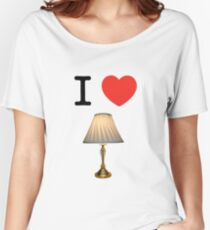 I LOVE LAMP Women's Relaxed Fit T-Shirt