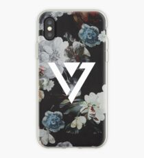 Black Floral Seventeen Kpop iPhone and Samsung Case iPhone Case