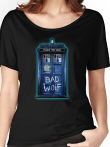 Space And Time traveller Wolf Women's Relaxed Fit T-Shirt