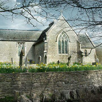 Tyneham Villiage Church by CatherineV
