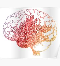 Brain letters Poster