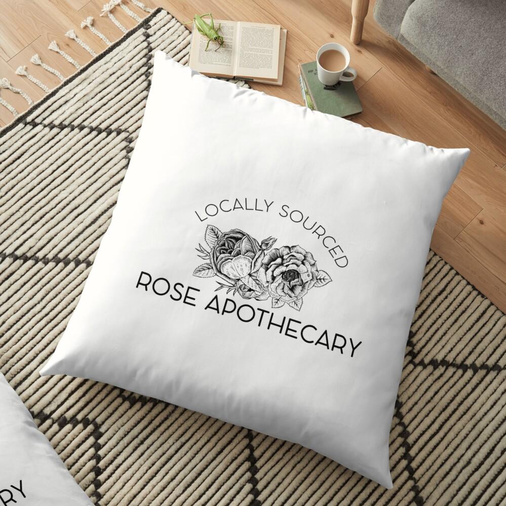 Rose Apothecary: locally Floor Pillow