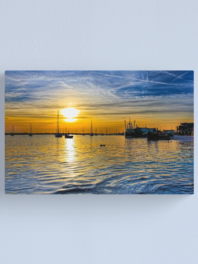 Alternate view of Spring Evening Canvas Print