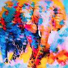 Elephant Impression by rosalin