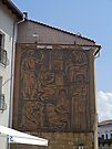 Carved Mural, Veliko Tarnovo, Bulgaria by Margaret  Hyde