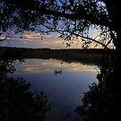 The Marsh at Dusk by J Jennelle