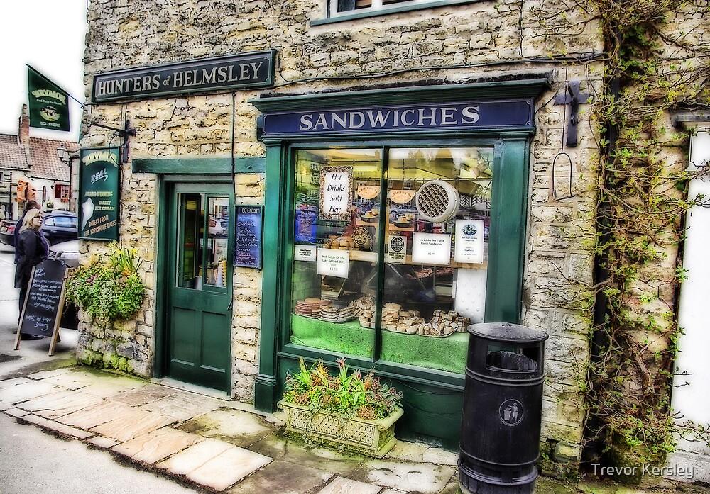 The Sandwich Shop - Helmsley. by Trevor Kersley