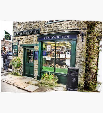 The Sandwich Shop - Helmsley. Poster