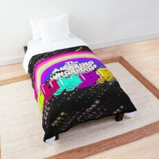 Trippy The Amazing World of Gumball Logo Comforter
