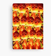 Red Hot Horgh'an Canvas Print