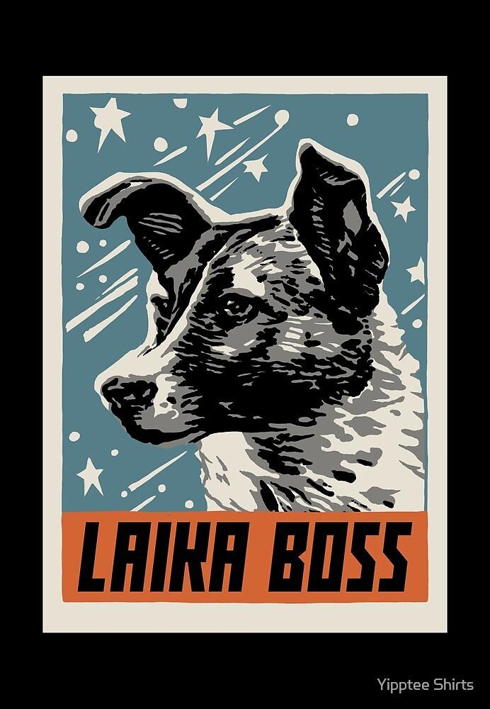 Laika Boss by Yipptee Shirts