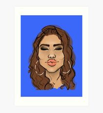 Mwah! Art Print