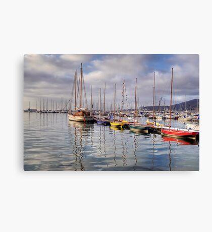 La Spezia Promenade - Door to Sion Canvas Print