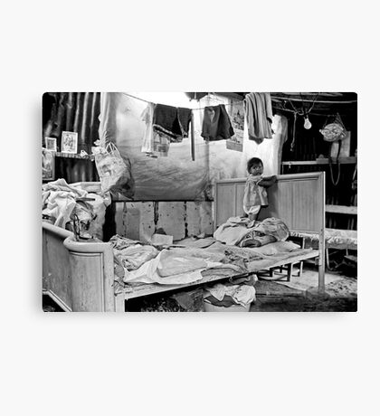 Home for a Family of Six Canvas Print