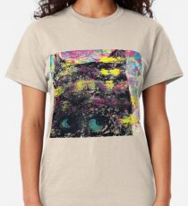 Mind of the Cat - Monotype Print Classic T-Shirt