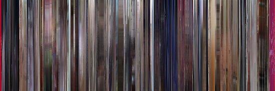 Moviebarcode: A Clockwork Orange (1971) by moviebarcode