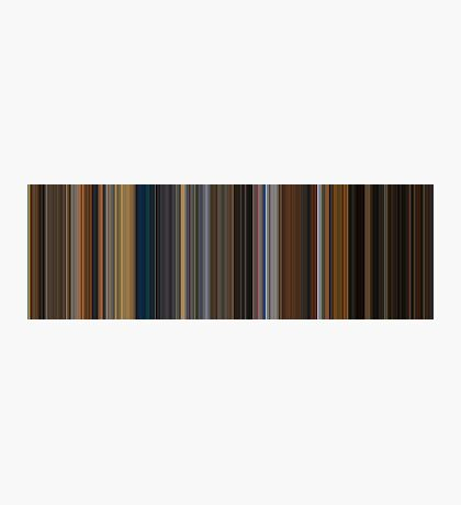 Moviebarcode: Apocalypse Now (1979) [Simplified Colors] Photographic Print