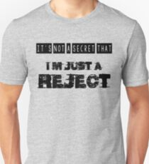 rejects Unisex T-Shirt