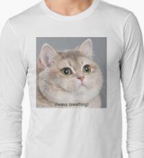 Heavy Breathing Cat T-Shirt