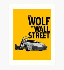 The Wolf of Wall Street: Art Prints | Redbubble