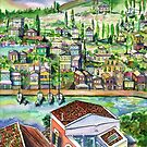 Hillside Village by mleboeuf
