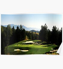 Trickle Creek Golf Course Poster