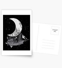 Moon Ship Postcards
