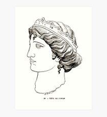 Adrien Allmer Catalogue Sommaire des Musées de la Ville de Lyon 1887 0013 Art Print