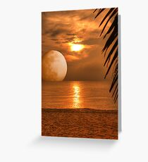Eary Morning in Cha am Greeting Card