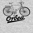 Orbea fifties text black by coloriscausa