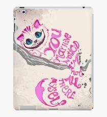 Ich bin nicht alles da - Cheshire Cat iPad-Hülle & Skin