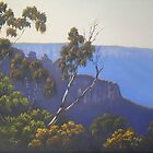 Blue Mountains Morning- Oil painting by Alison Murphy