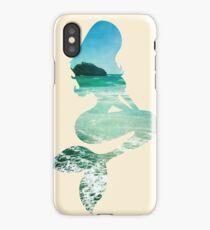 Mermaid ocean beach boho cool trendy pretty design iPhone Case/Skin