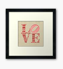 Love is Not Love, Shakespeare Sonnet 116 Framed Print