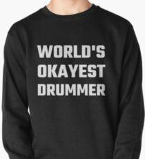 Sudadera cerrada El mejor baterista del mundo